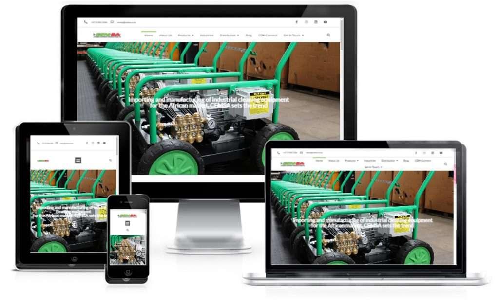 CEMSA Website Showcase