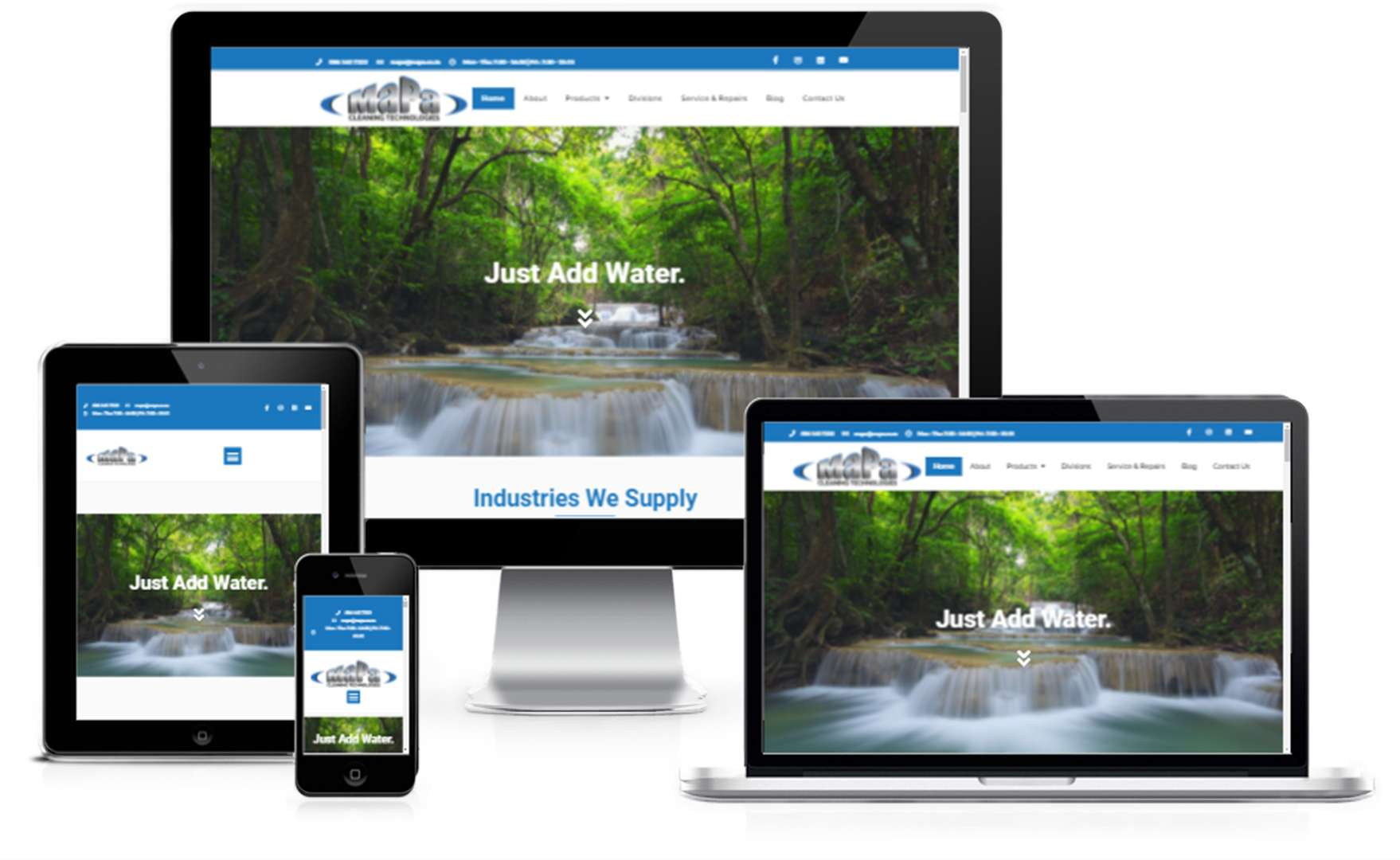 MaPa Website Showcase